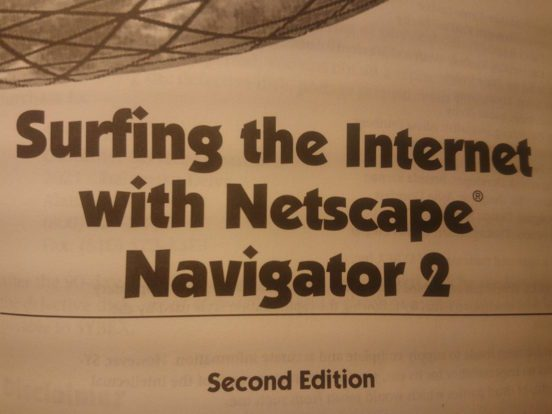 Surfing with Netscape 2